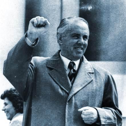 Enver Hoxha, dictator